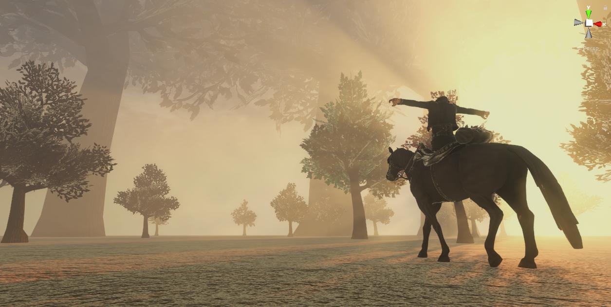 Screenshot of new lighting system