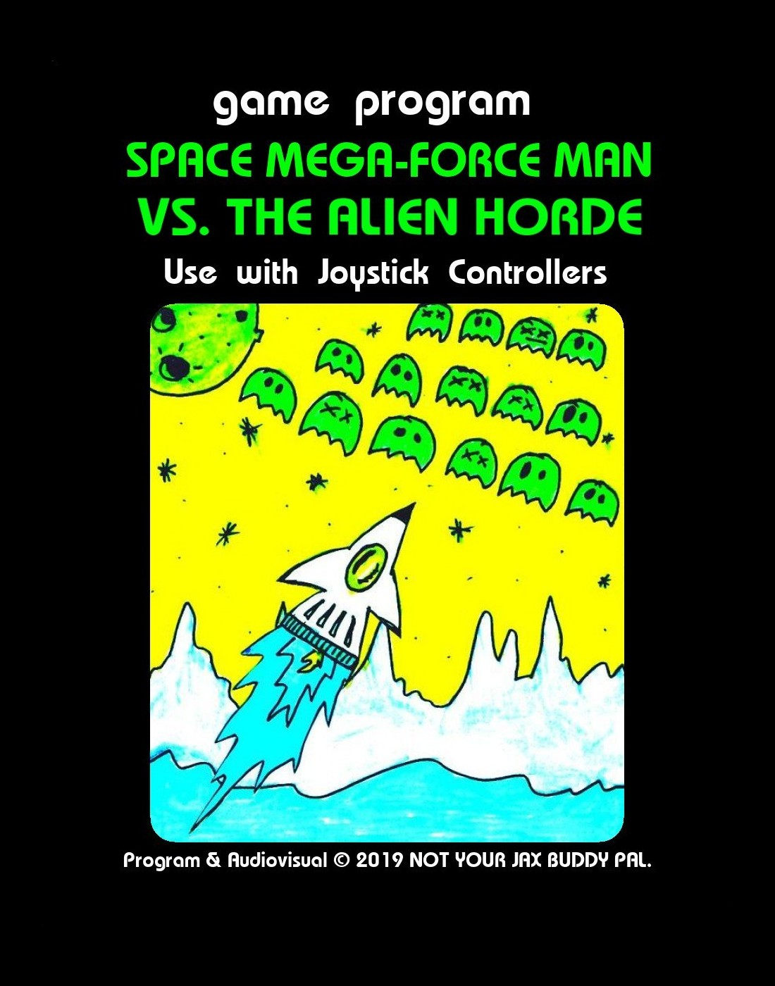 Space Mega Force Man