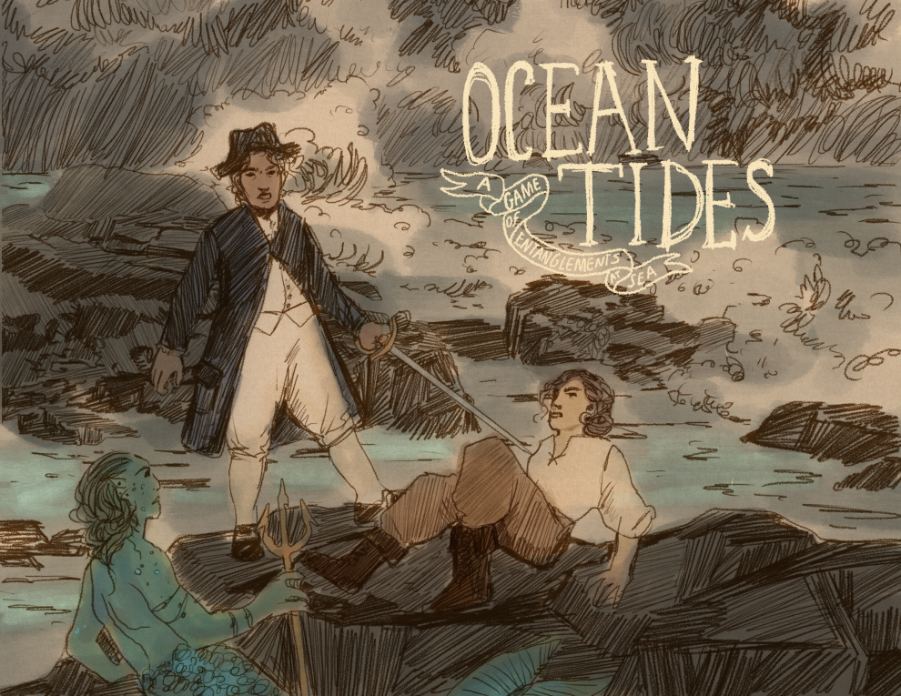 Ocean Tides: A Game of Entanglements at Sea
