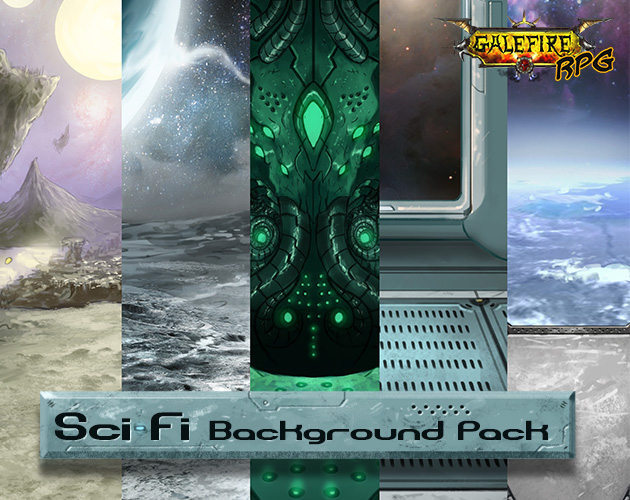 Scifi Background Pack