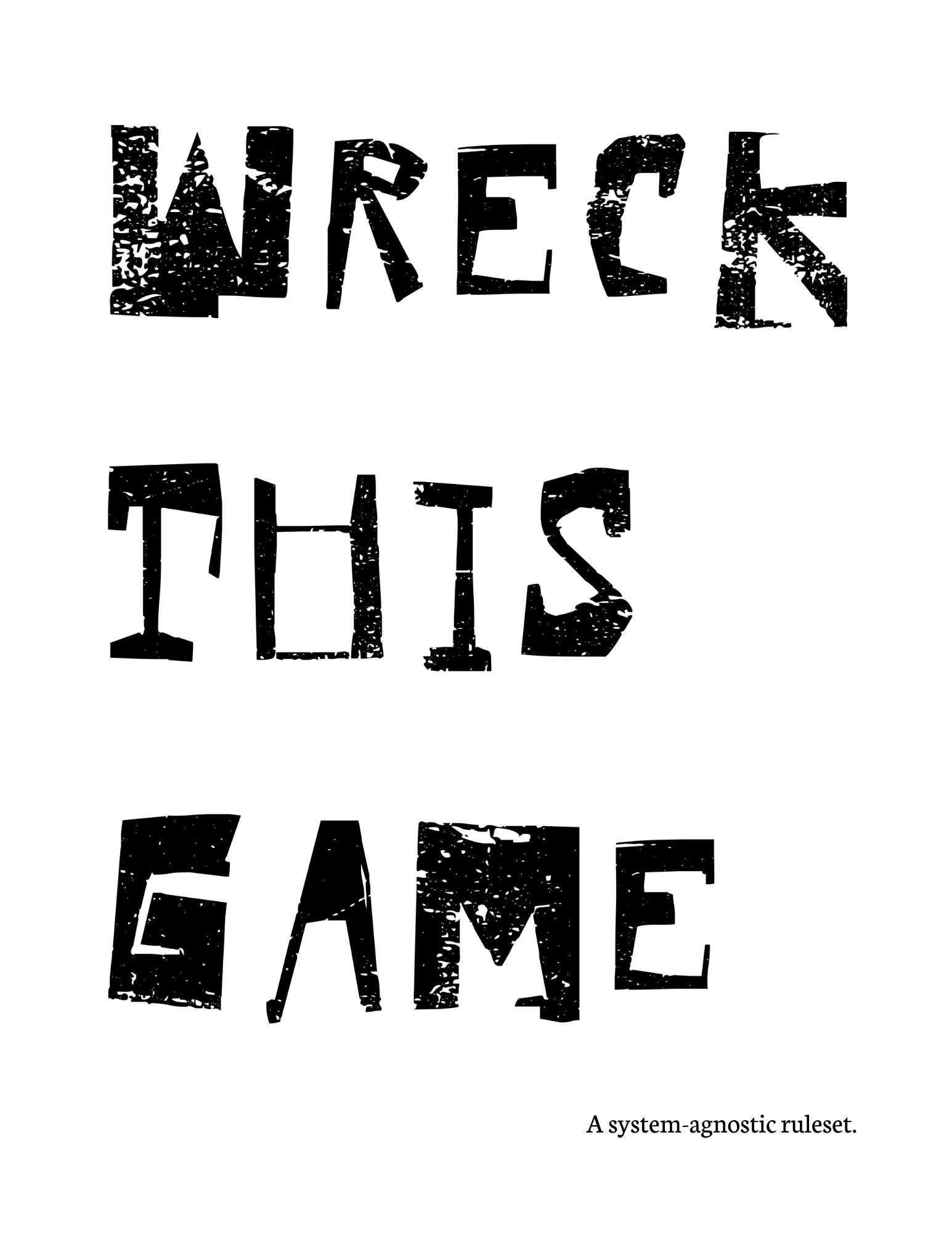 WRECK THIS GAME
