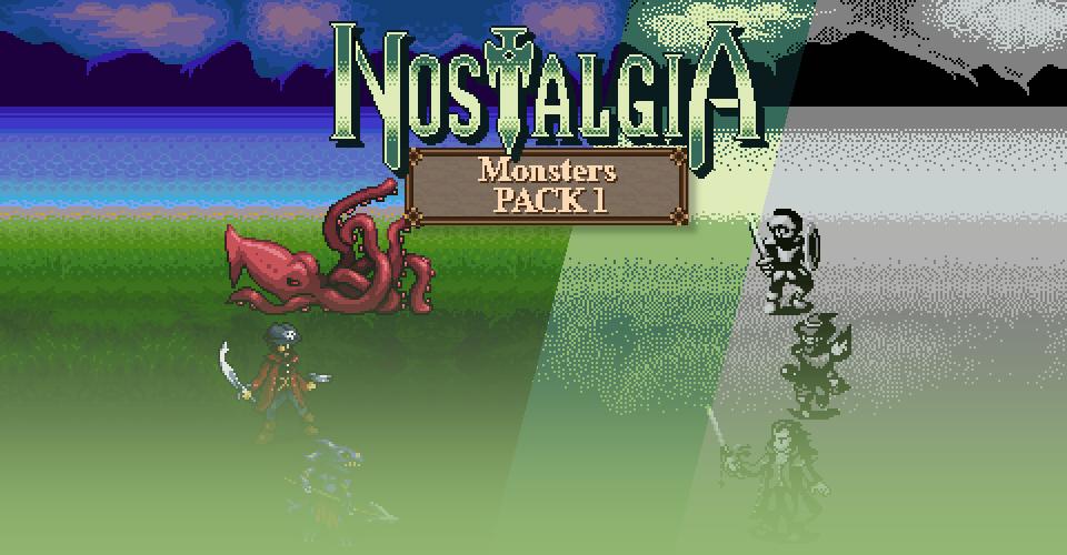 Ocean's Nostalgia - Monsters Pack 1
