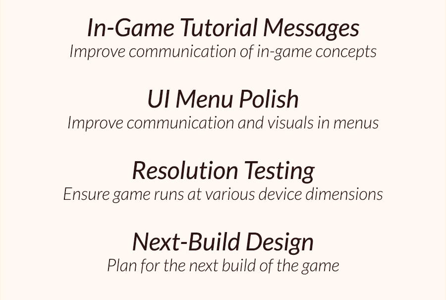 February Roadmap Goals