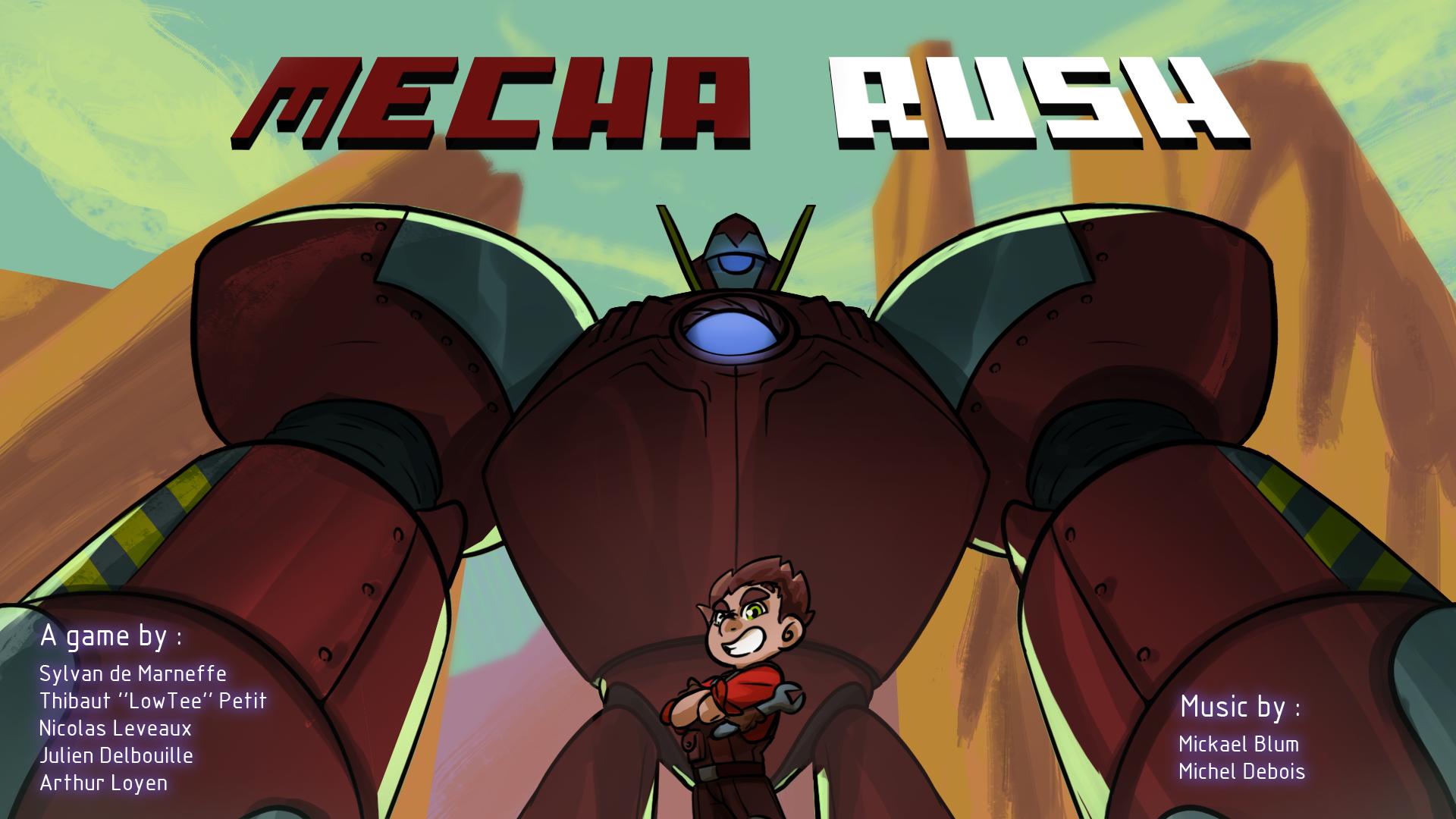 Mecha Rush