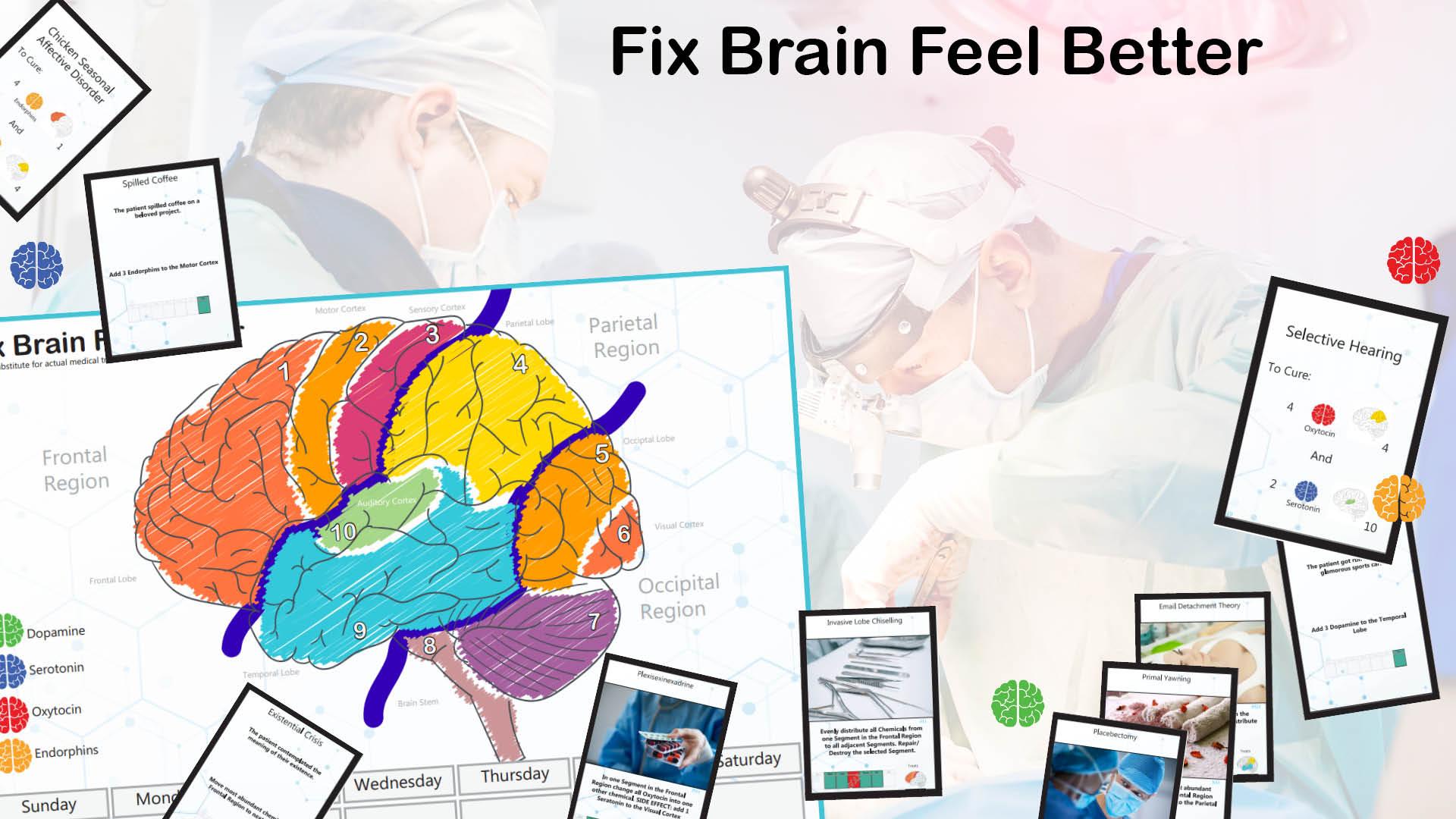 Fix Brain Feel Better