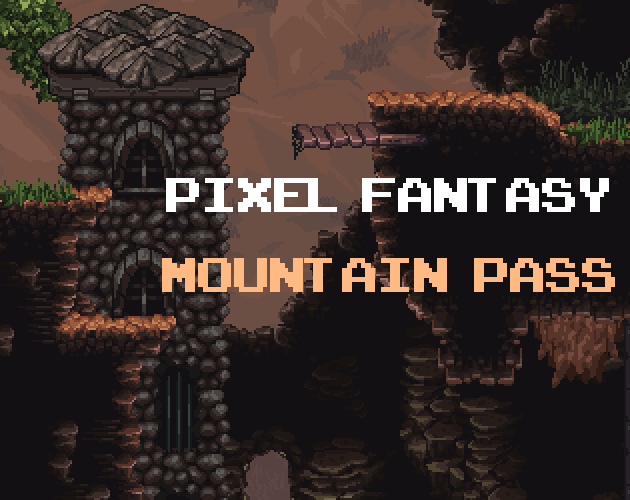 Pixel Fantasy Mountain Pass