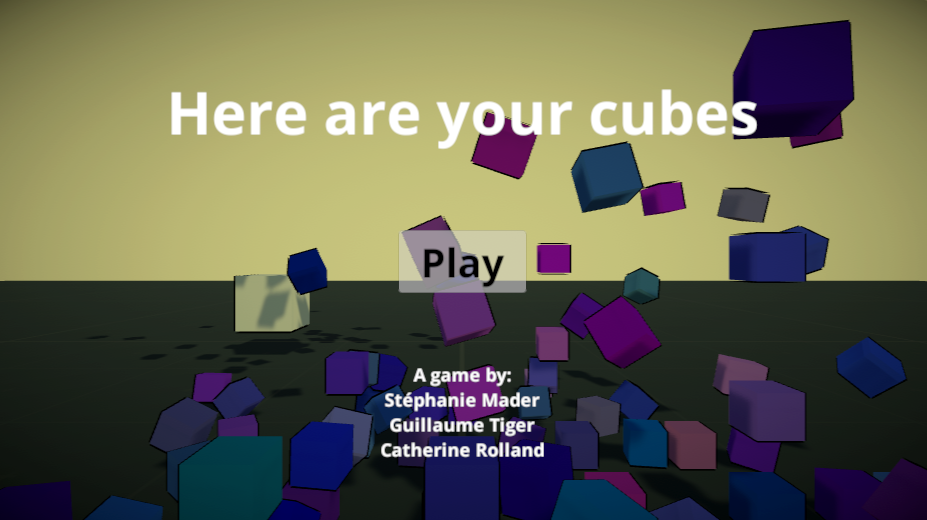 Here are your cubes (HAYC)
