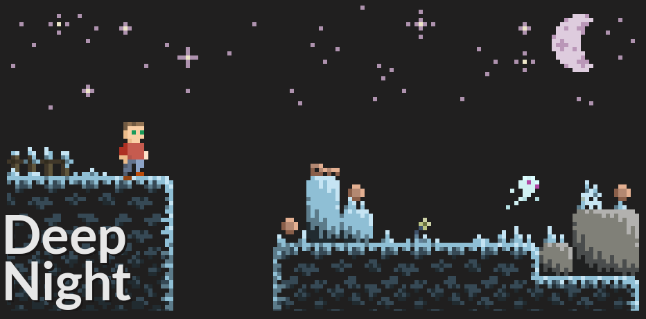 Deep Night - 8x8 Platformer Assets