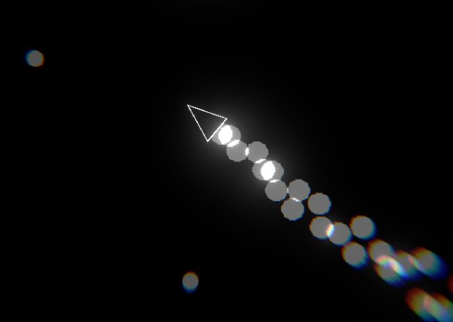 Black-White Space