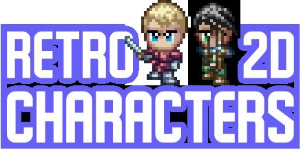 Retro 2D Characters
