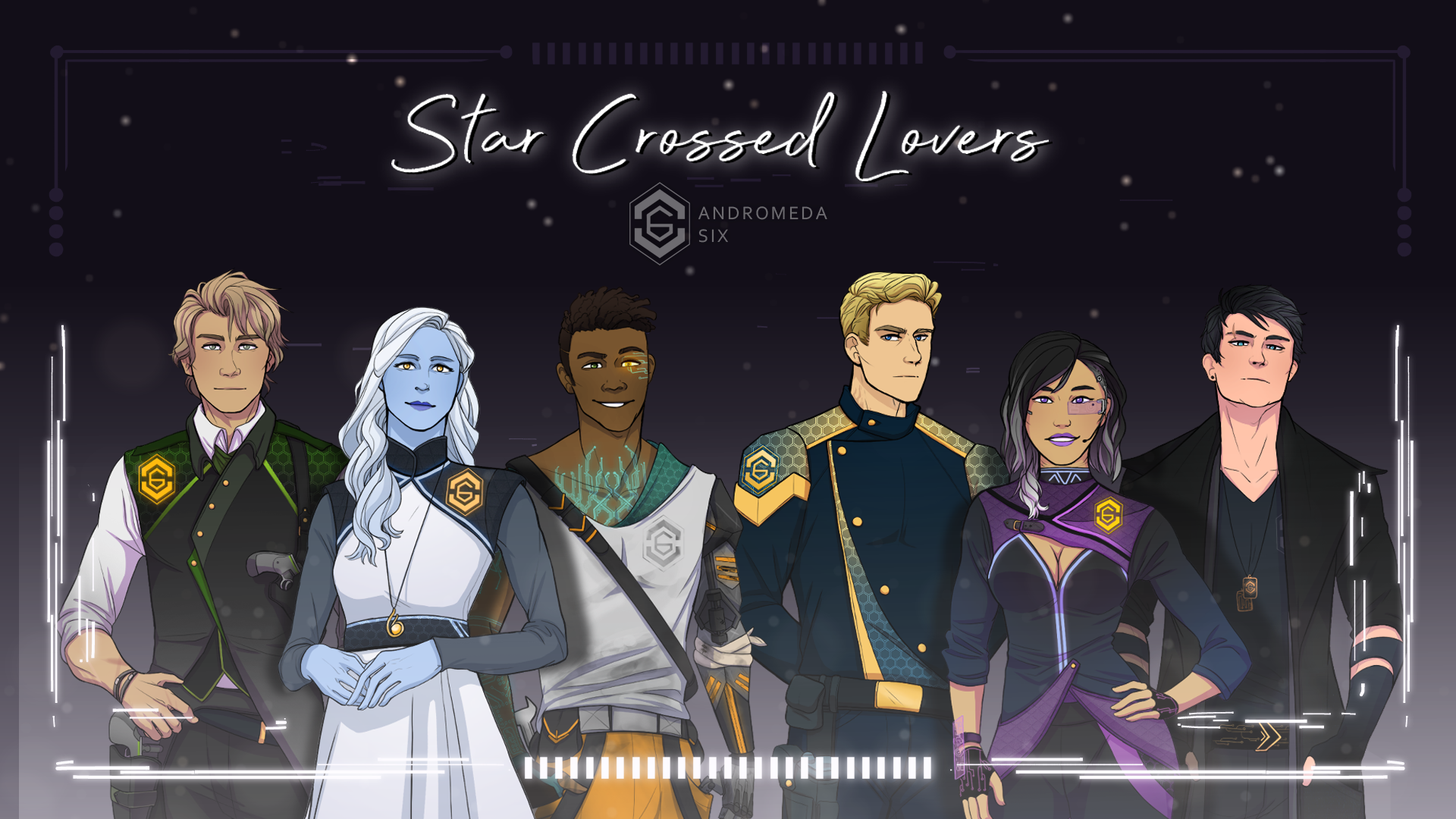 Andromeda Six | Star Crossed Lovers