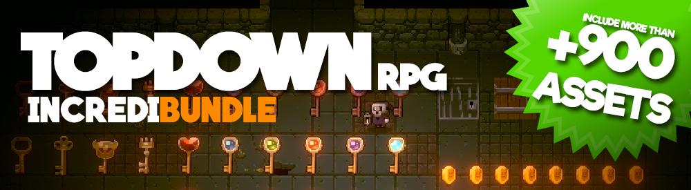 Top-Down RPG - Incredibundle +900 assets