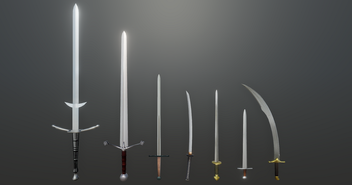Historical Swords Pack for Unity 3D