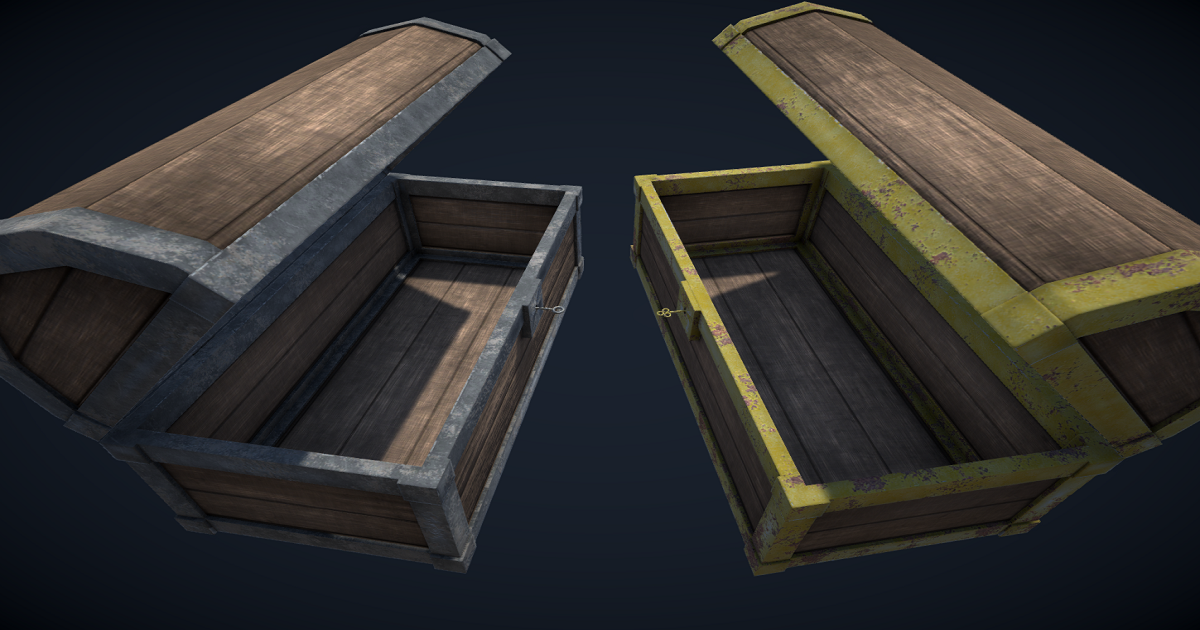 Animated Treasure Chests for Unity 3D