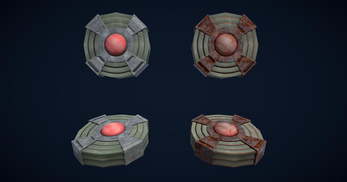 Landmine for Unity 3D