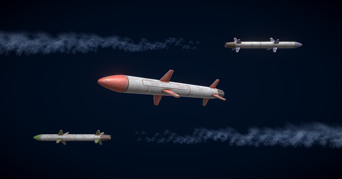 Guided Missiles for Unity 3D