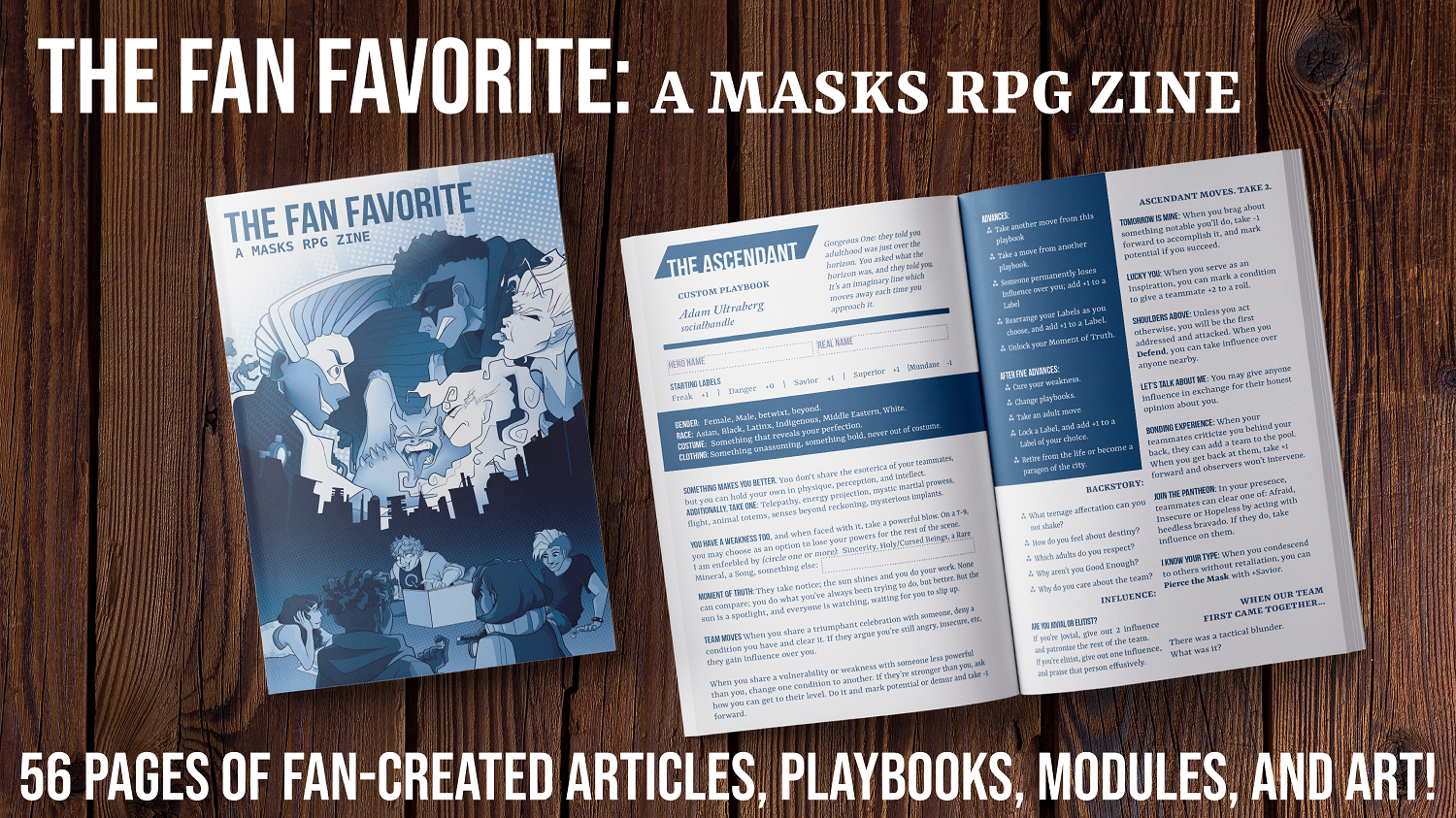 The Fan Favorite: A Masks RPG Fanzine