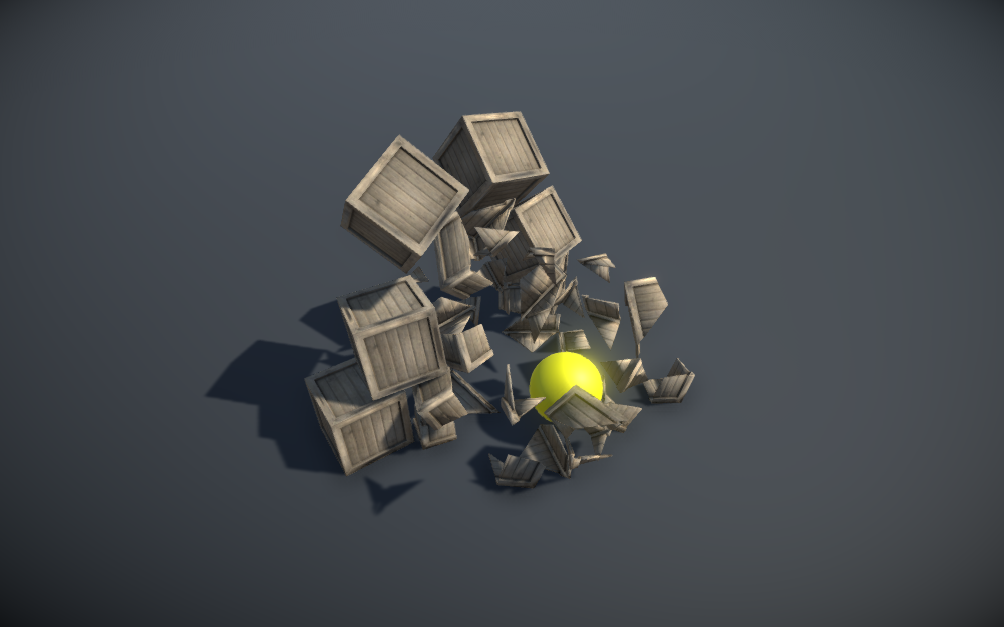 Breakable Objects System for Unity 3D