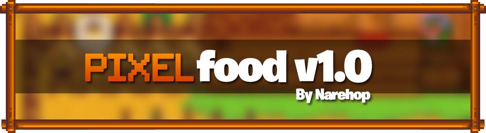 Pixelfood v1.0