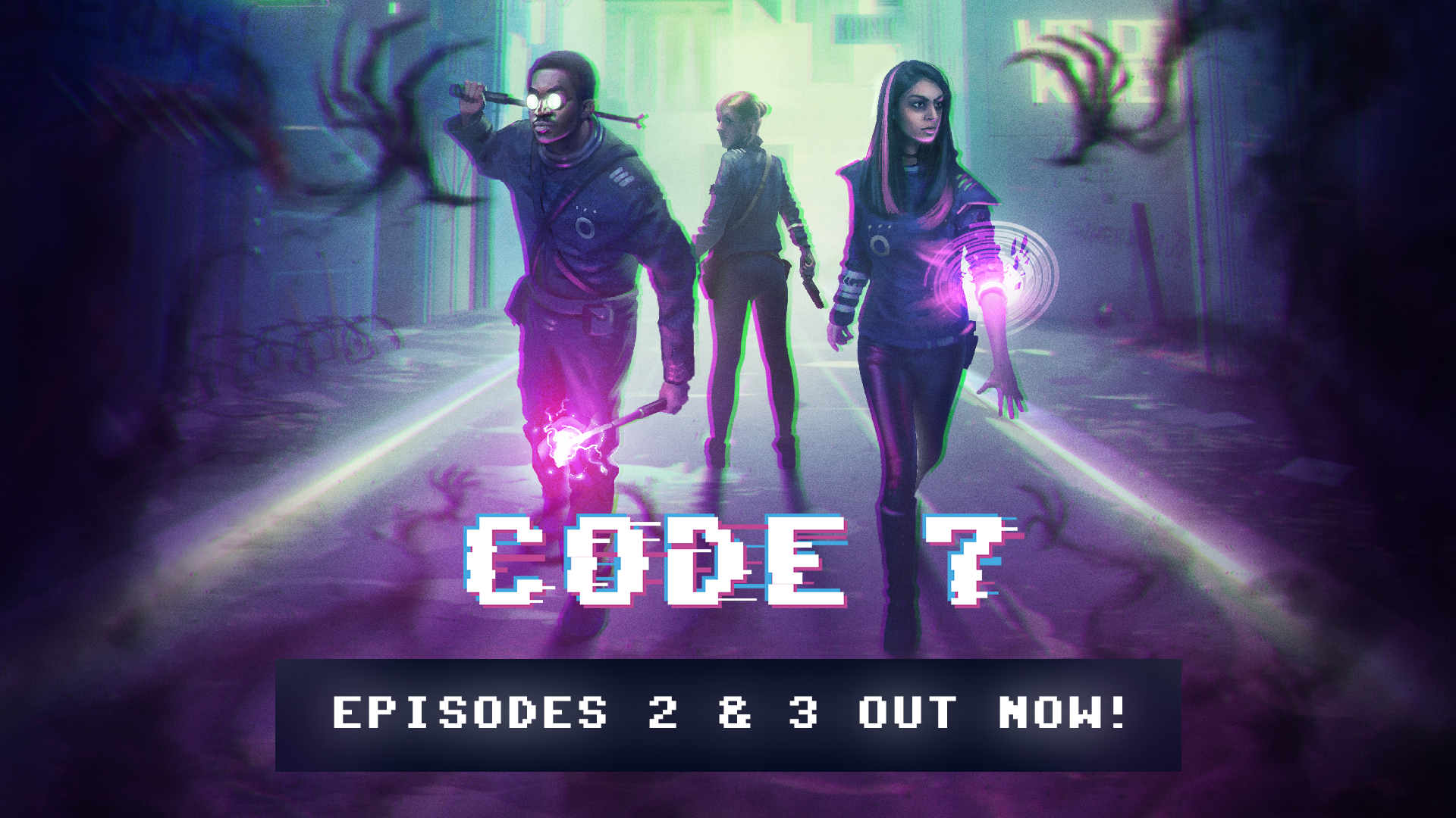 Code 7 - Episodes 2 & 3 Available Now