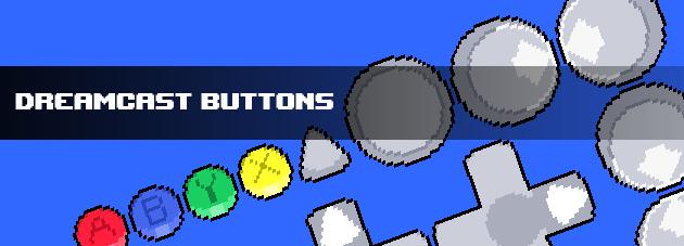 Dreamcast Buttons - GUI