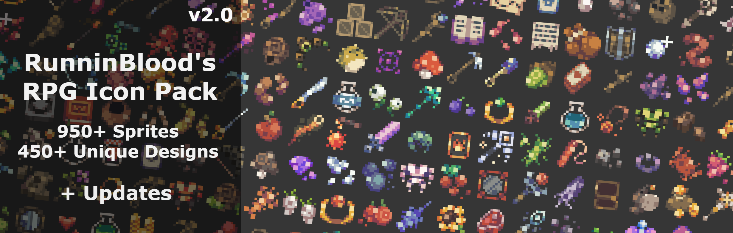 16x16 RPG Icon Pack