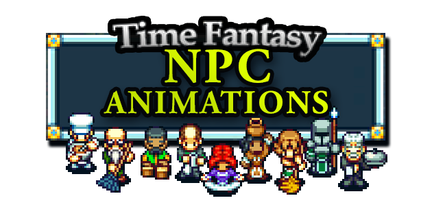 Animated NPC Sprites Pack
