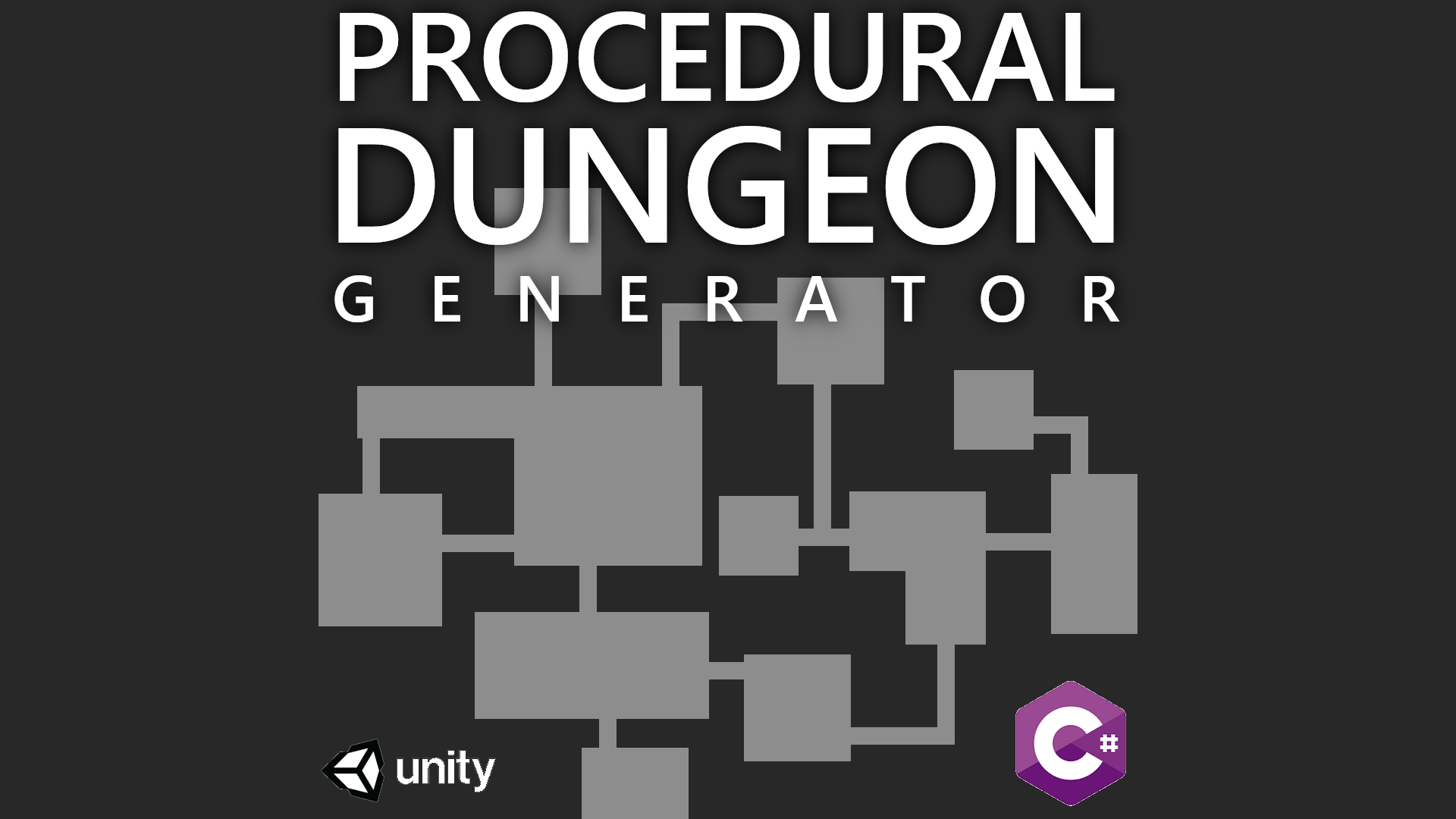 Procedural Dungeon Generator v1 0 (C# - Unity) by Copper Aardvark Games
