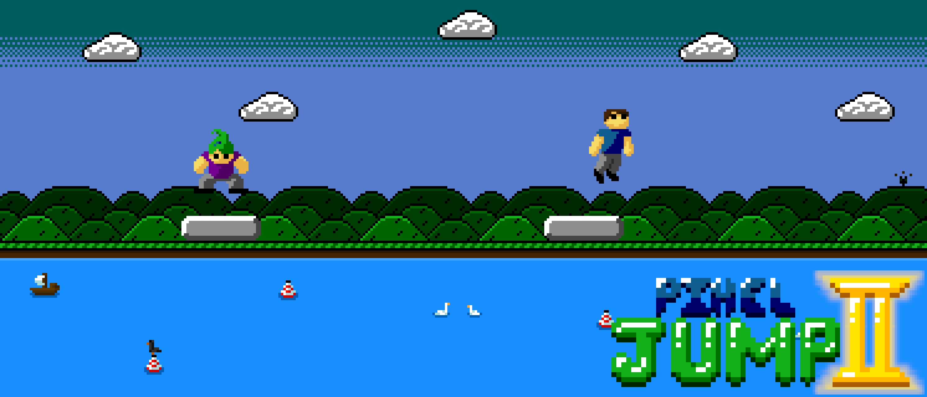 Pixel Jump II