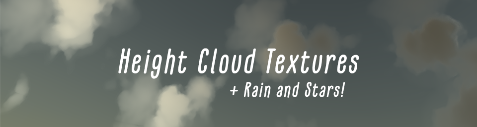 Height Cloud Textures