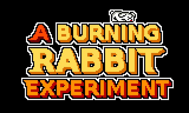 A Burning Rabbit Experiment
