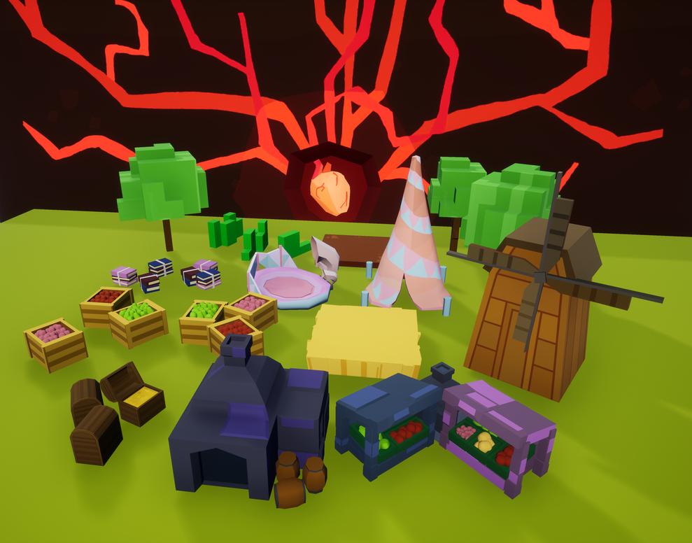 A Lively Village