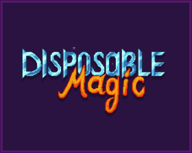 Disposable Magic: After a long adventure you finally face the Evil Sorcerer…