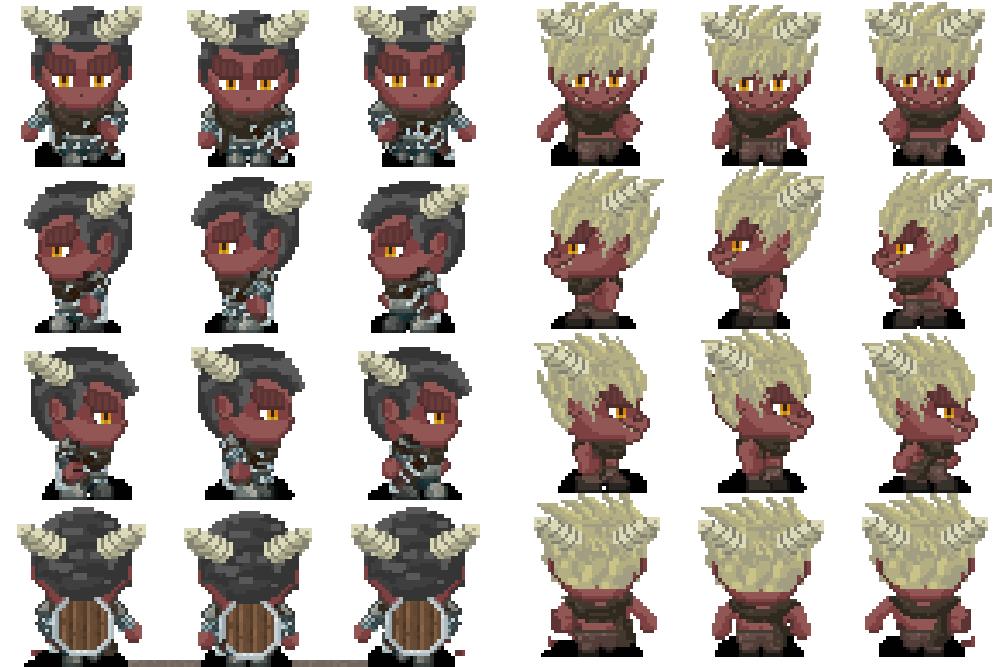 Character Generator for RPG Maker MV by ClockWork Raven
