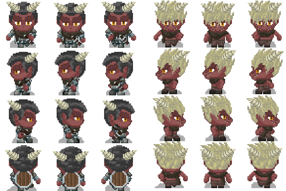 Demons and dragons update - Character Generator for RPG Maker MV by
