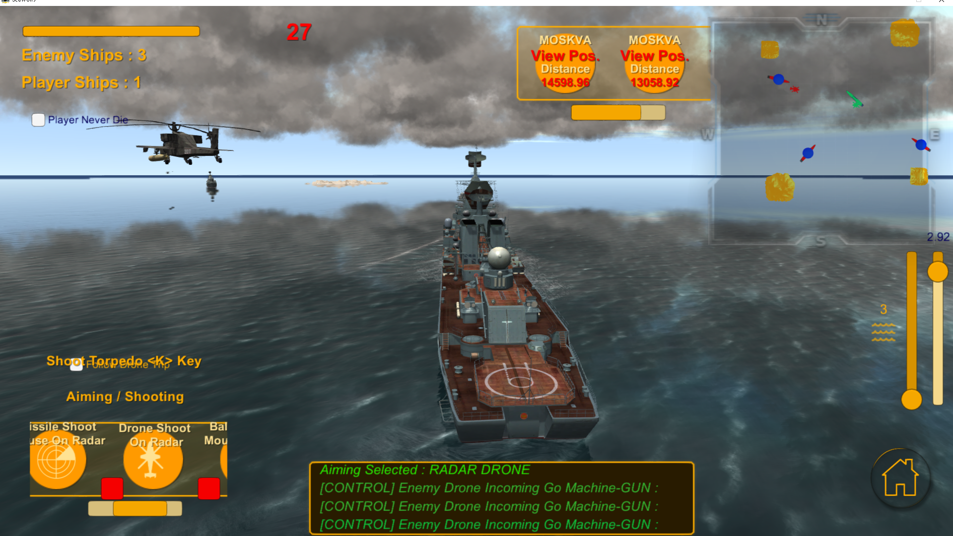 Seawolves Modern Battleships-Warships combat by Seawolves