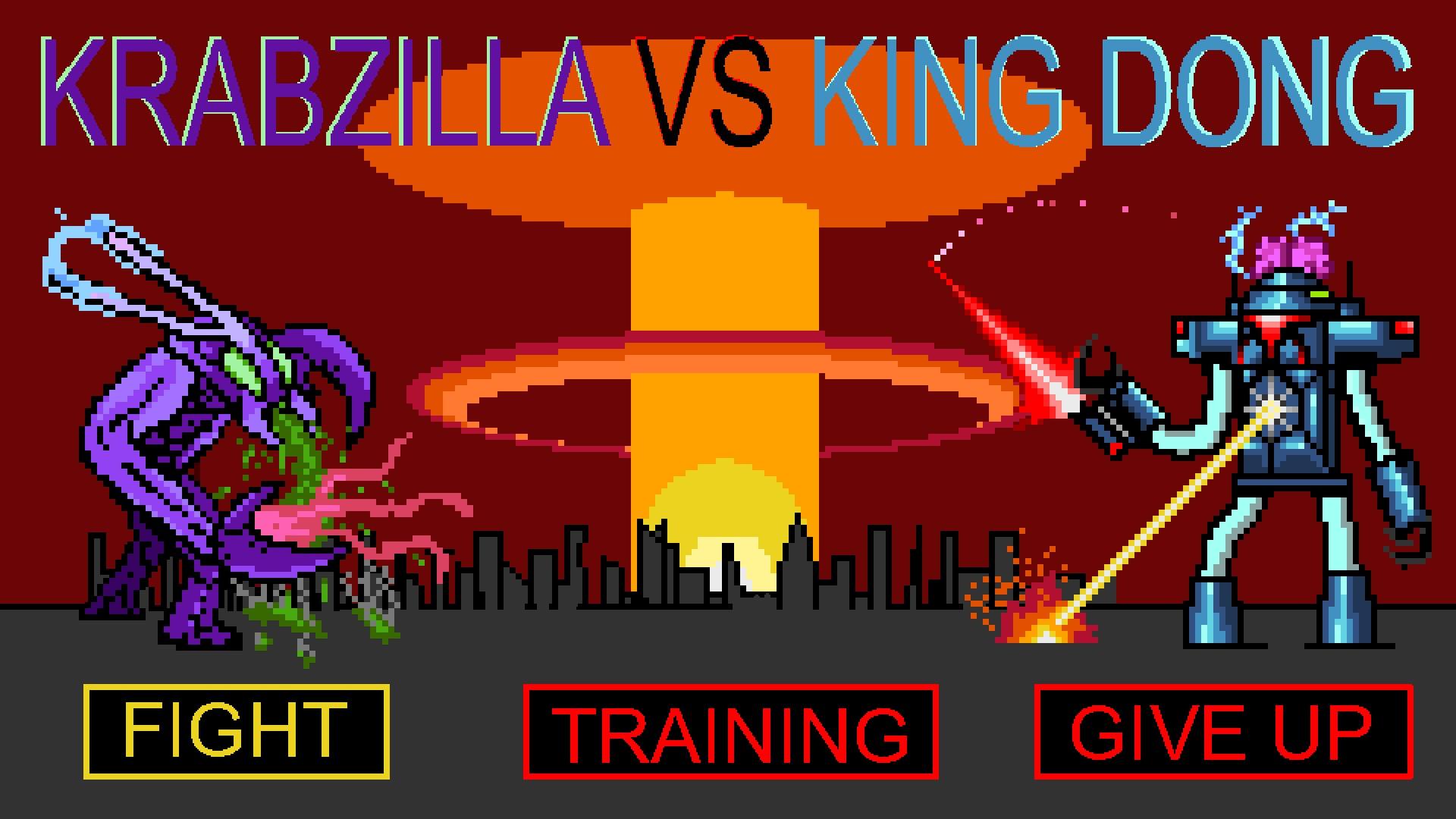 Krabzilla VS King Dong