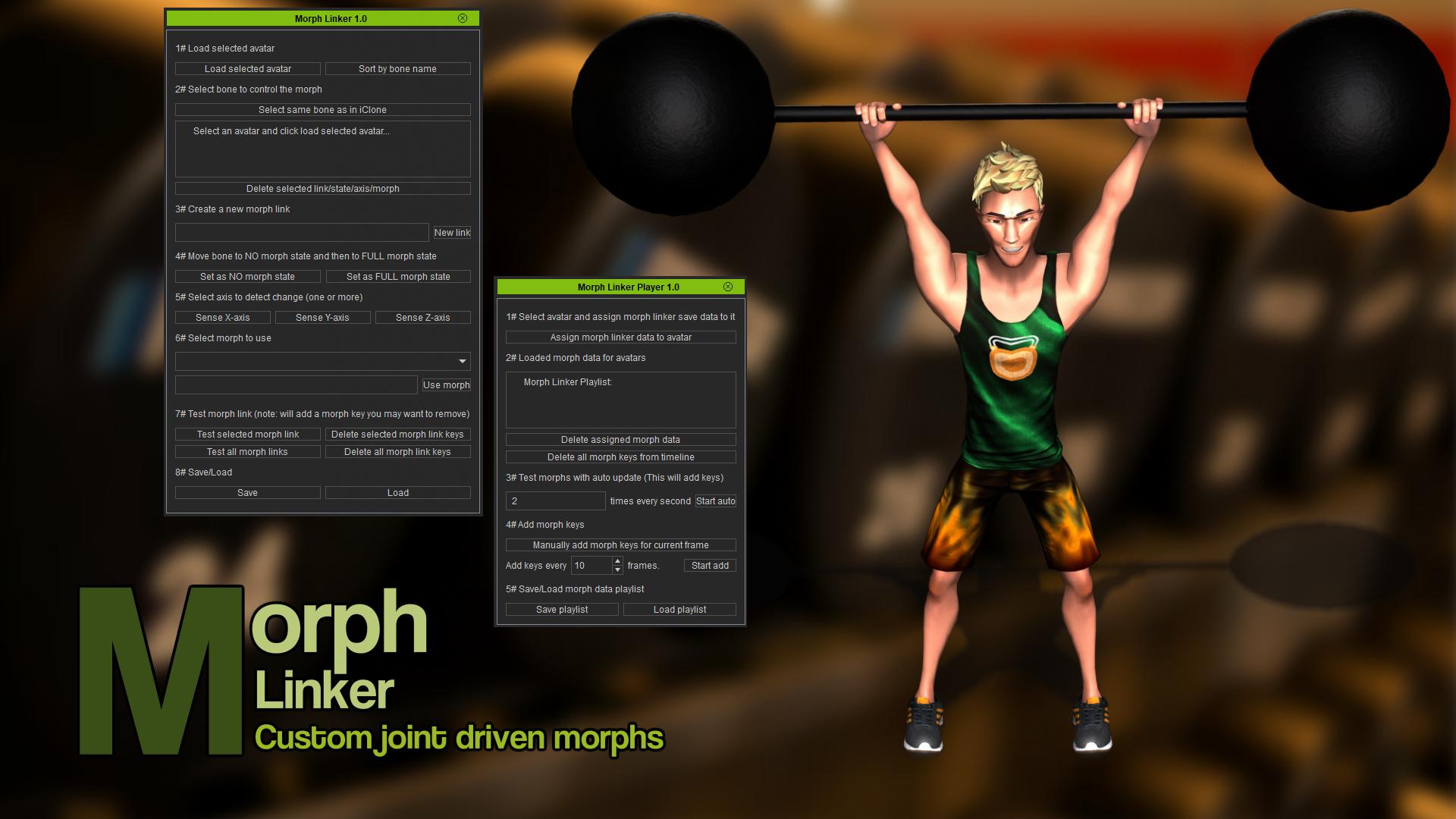 Morph Linker (iClone7 Plugin)