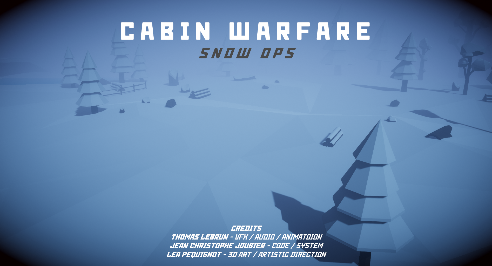 Cabin Warfare : Snow Ops