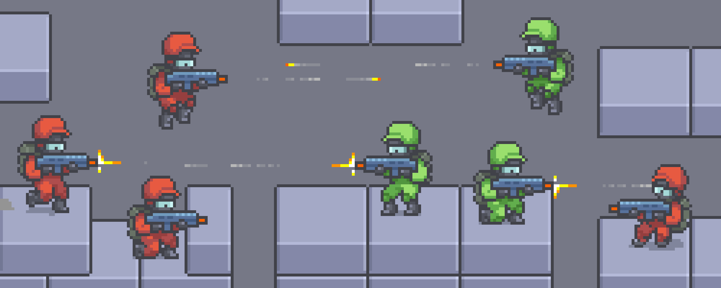 Gunner - Animated Character