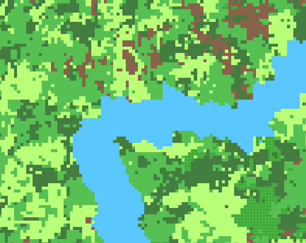 Terrain Generation Test by Munnin Games