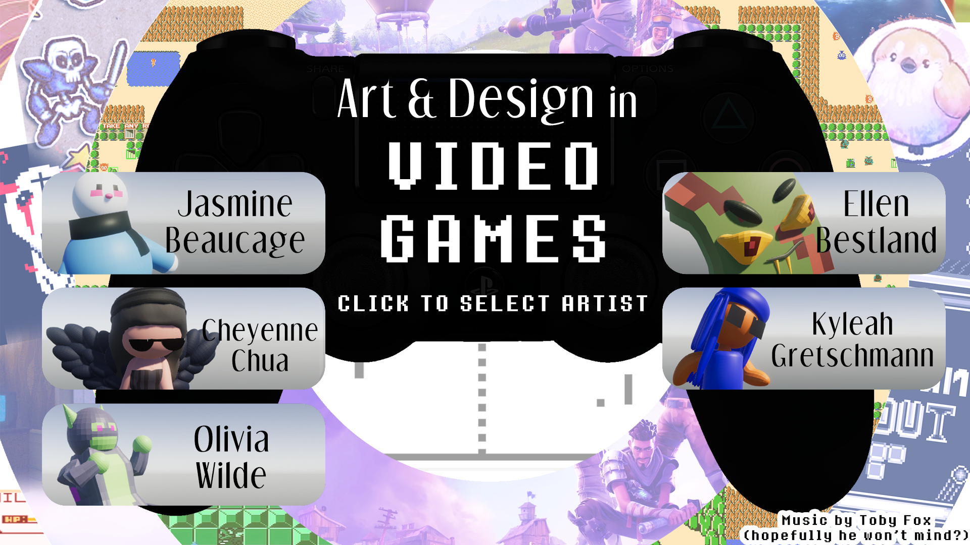 Art and Design in Games Course 2019