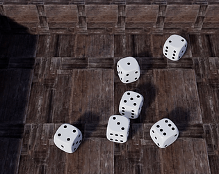 kingdom come: Dice by 夕 for 2019 Spring #ue4jam