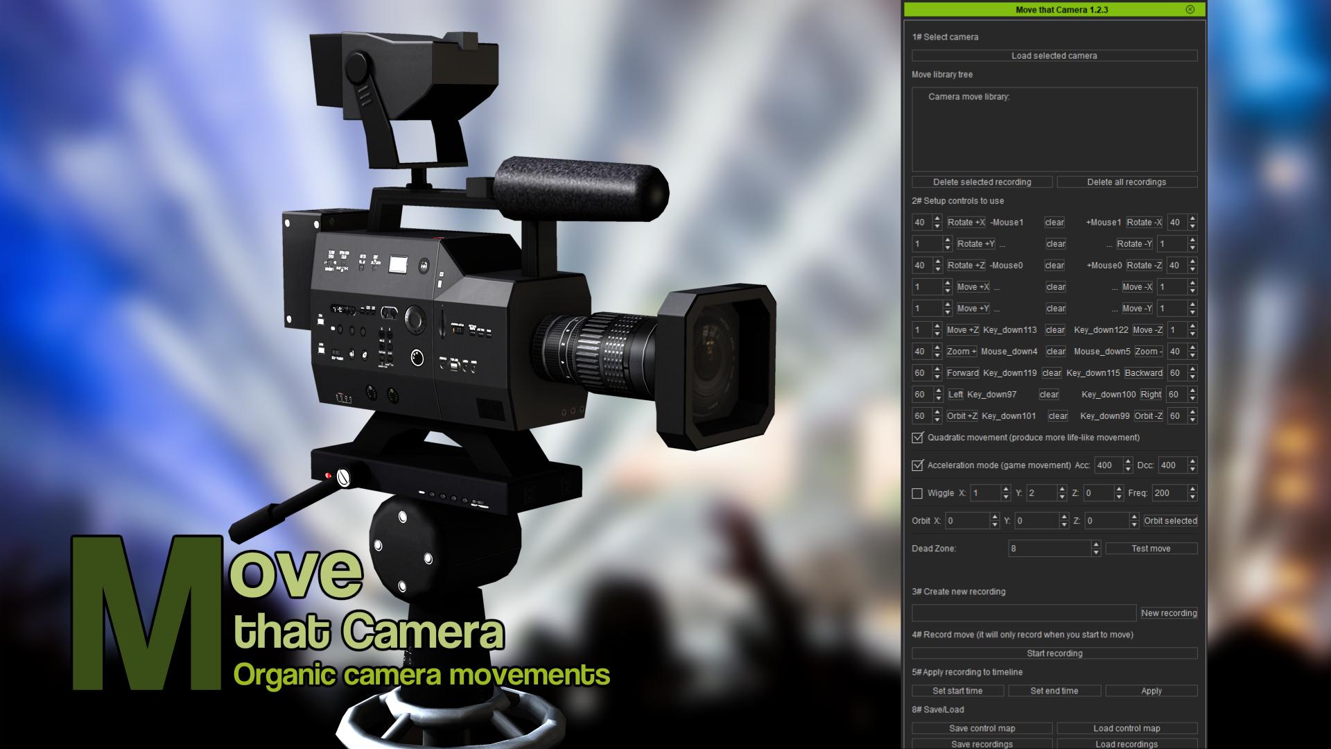 Move that Camera (iClone7 Plugin)