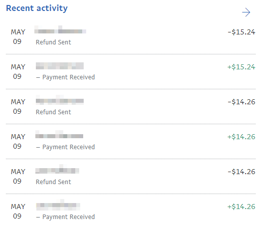 Paypal purchases are getting immediately refunded - Questions, Ideas