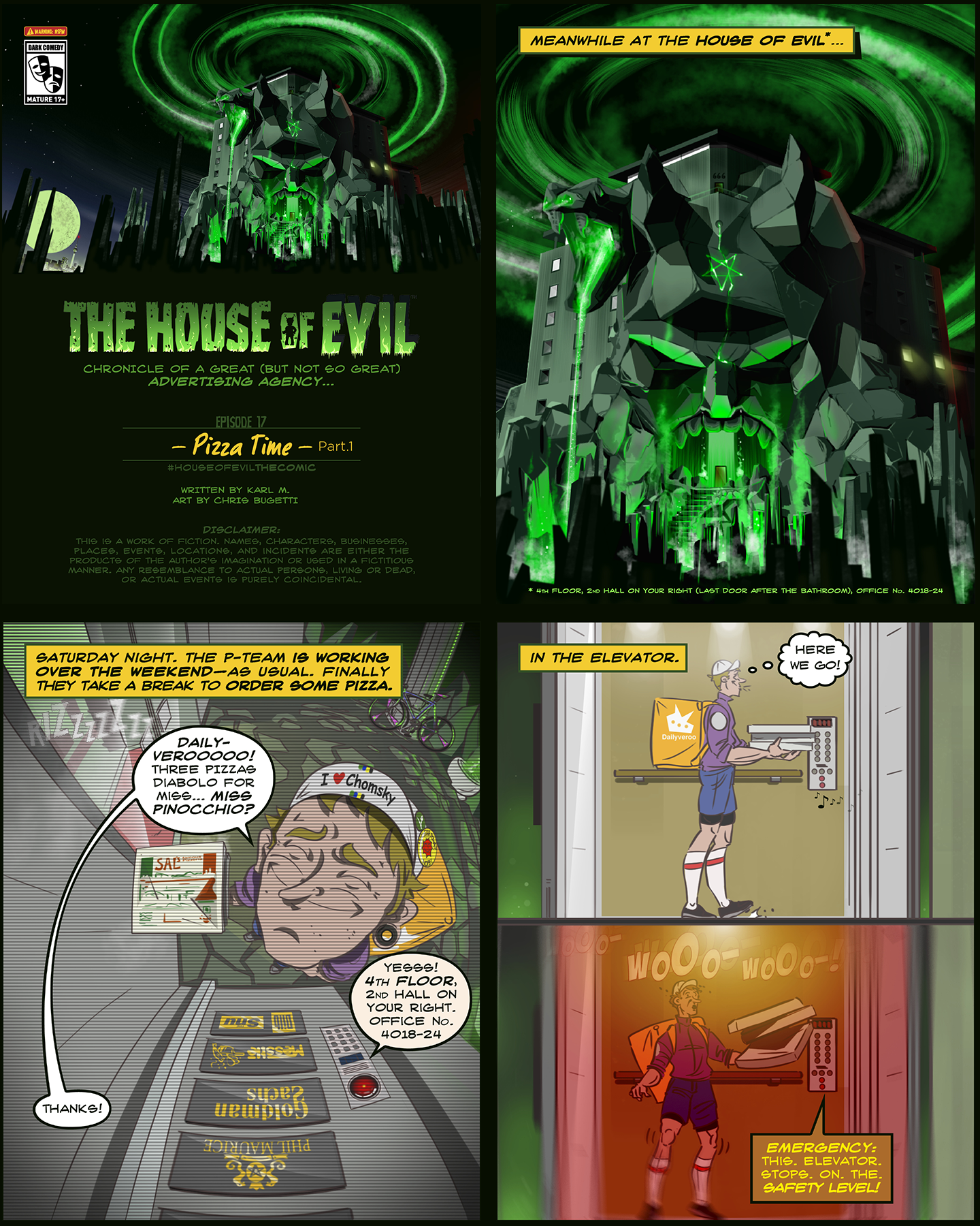The House of Evil –Pizza Time– (Ep1)