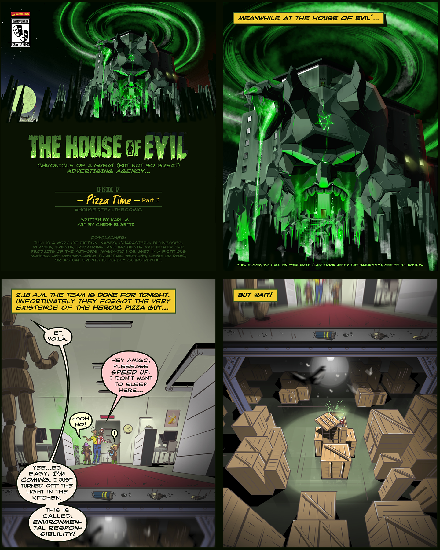The House of Evil –Pizza Time– (Ep2)