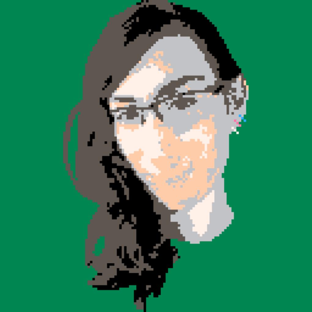 It's me, but in pixel-art