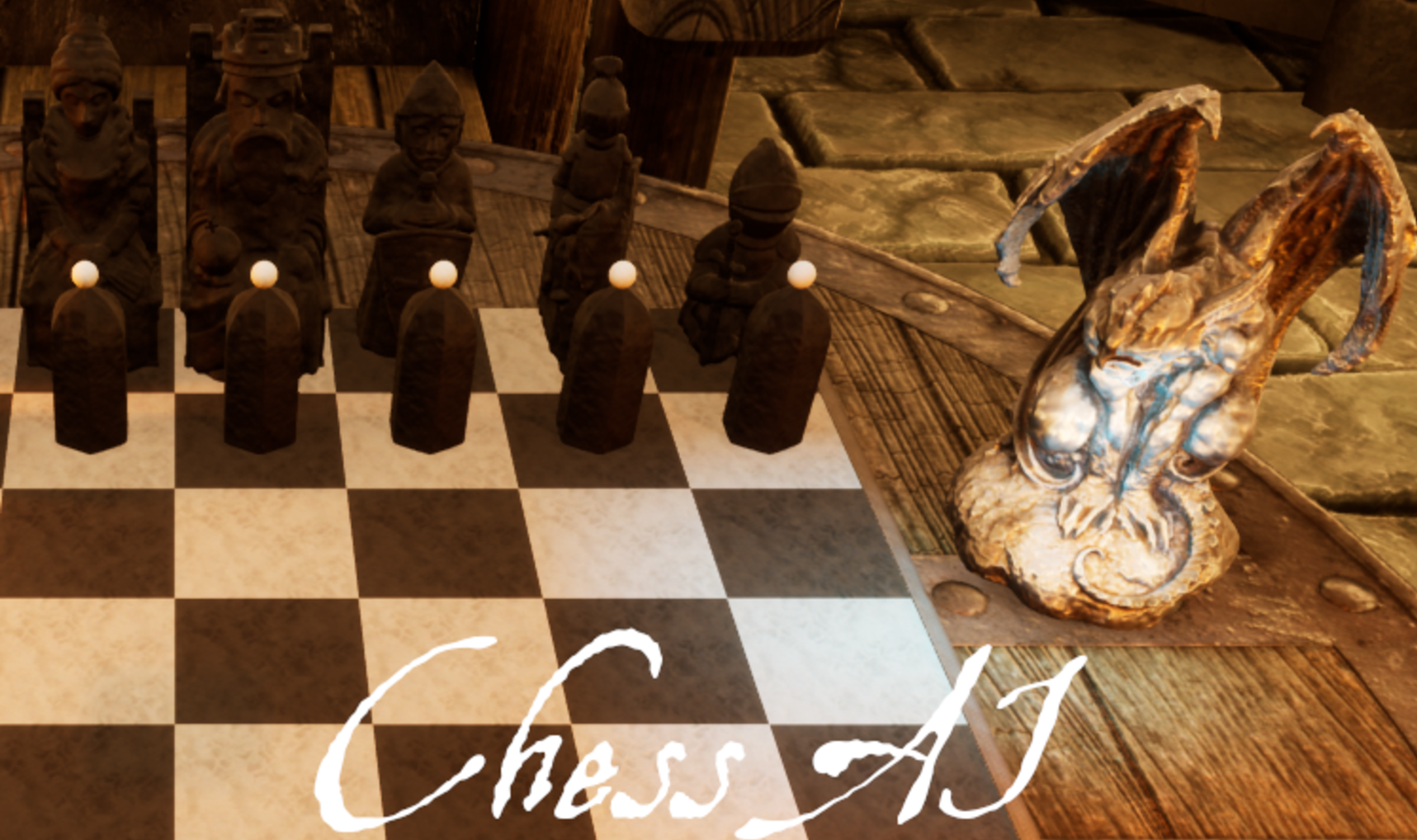 Chess AI: Min Max - University project done EPIC