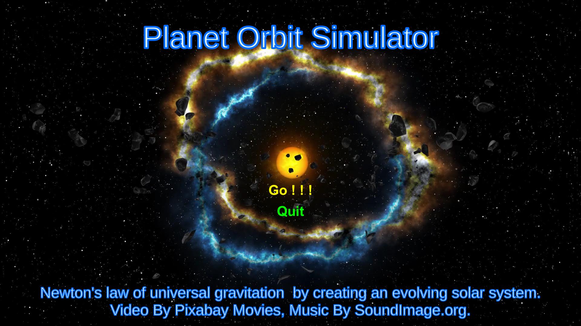 Soloar System Planets Simulator